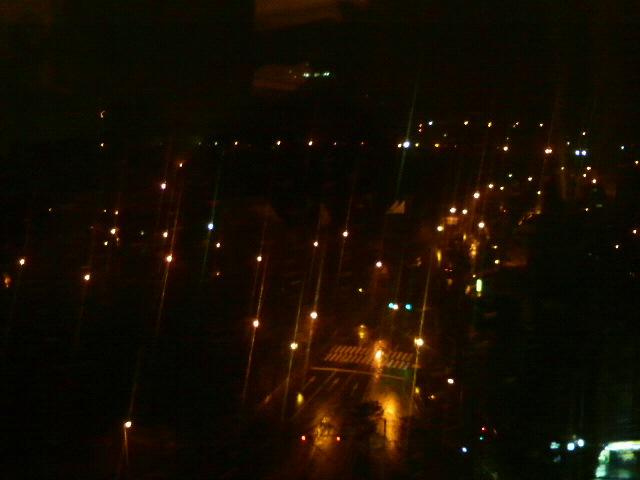 ソウルの夜景に乾杯!